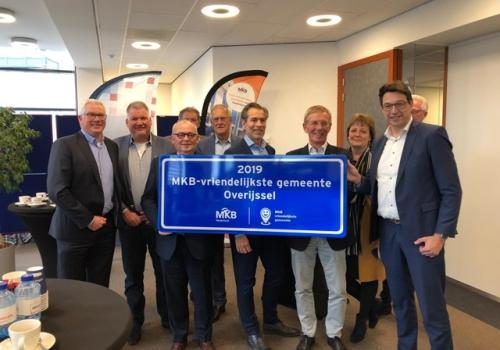 Rijssen-Holten de MKB-vriendelijkste gemeente van Overijssel!